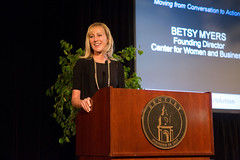 "Center for Women and Business Inaugural Forum • <a style=""font-size:0.8em;"" href=""http://www.flickr.com/photos/61485828@N04/7150973401/"" target=""_blank"">View on Flickr</a>"