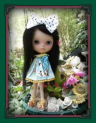 Lili in the garden