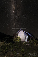Milky way at Senaru Photo