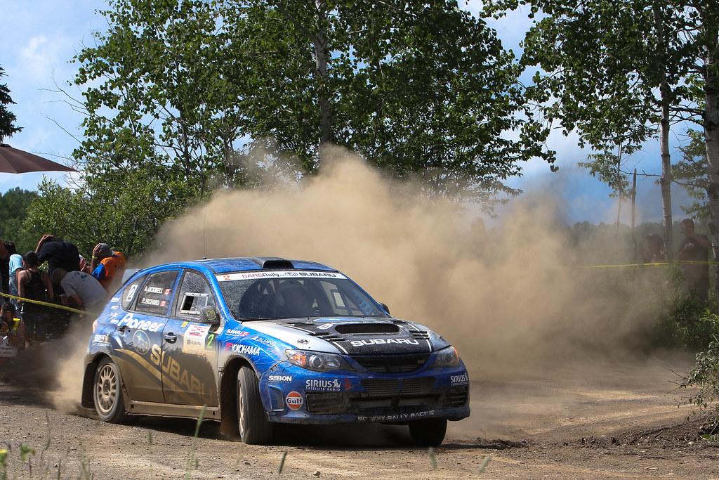 Pat Richard - Rallye Baie-des-chaleurs 2012