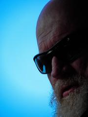Helensburgh drive 8/7/2012 (Corpus Rex- Robertito) Tags: beard glasses furry australian portatrait