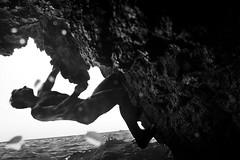 What I want... (Francicco) Tags: selfportrait portraits seascapes blacknwhite gaeta dws deepwatersoloing cicconardi seebw