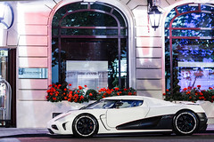 Koenigsegg Agera R [EXPLORE] (Valkarth) Tags: summer white paris france blanco night matt noche bahrain europe dubai egg royal cc arab r kuwait mate q qt nuit bianco blanc supercar matte ccr koenigsegg qatar ksa monceau koenig qtr ccx segg cc8s ccxr agera
