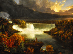 Thomas Cole - Distant View of Niagara Falls, 1830 at Institute of Art Chicago IL (mbell1975) Tags: usa chicago art museum painting landscape us illinois gallery museu view unitedstates cole thomas fine arts niagara musée falls musee m il institute american museo muzeum distant müze 1830 museumuseum