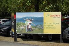 Cardada - Natur- und Bergwelt als Einkommensquelle durch Massentourismus. () Tags: ad commercial cardada