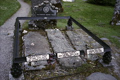 Grave of Rob Roy (Adam Chin) Tags: scotland zeissikon robroy kodakportra160 zeissbiogon35mm20