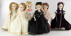 2036. Group of (6) Madame Alexander First Ladies Dolls