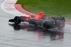 Jules Bianchi (PaulGibsonPhoto) Tags: colour wet car rain racecar speed nikon spray silverstone motorracing motorsport racingcar wsr 80200mmf28 singleseater julesbianchi formularenault35 d7000 fr35