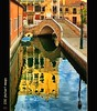 Yet another Venice reflection! (PhotoArt Images) Tags: bridge venice italy reflections boats canal explore venicecanal explorefrontpage venicereflections bridgeinvenice photoartimages