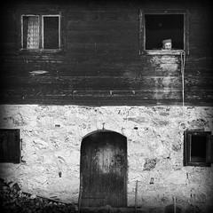 Radiša Živković - Window into the world (Radisa Zivkovic) Tags: life blackandwhite house architecture rural nikon europe loneliness serbia lifestyle oldage extinction srbija novavaros štitkovo