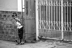 Shy kid (losacchi) Tags: travel boy brazil blackandwhite bw mountain minasgerais brasil fence kid trail espiritosanto picodabandeira shykid flickraward manhumirim altodocapao altodojequitiba