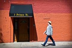 New York facets - 3 Prince St. (_Franck Michel_) Tags: street red brick hat wall rouge brique chapeau rue mur mygearandme mygearandmepremium