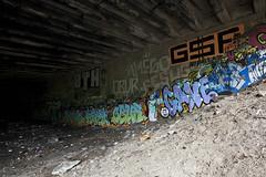 Obur Wall (paul drzal) Tags: philadelphia graffiti tag gf readingviaduct gesus bth obur eskepe underthestreets friendsoftherailyard paulvanmeter
