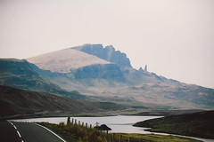 On the Isle of Skye (genevieve_males) Tags: road uk mountain water face landscape scotland isleofskye roadtrip replichrome genevievemales genevievesawyermales