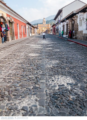 Cobblestone street and the Santa Catalina Arch in Antigua, Guatemala (Vincent Demers - vincentphoto.com) Tags: voyage road street old city trip travel vacation urban building clock tourism latinamerica architecture town colorful arch guatemala clocktower unescoworldheritagesite cobblestone antigua colonialarchitecture colourful oldbuilding oldcity touristattraction centralamerica travelphotography urbanscene famousplace spanishculture laantigua colonialstyle arcodesantacatalina architectureandbuildings touristdestination traveldestination santacatalinaarch historiclocation travellocation