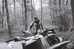 (YannMoz) Tags: trees tree forest canon photography 50mm duke super ktm motorbike 7d moto yamaha devil suzuki motorbikes moz gsxr chevreuse shoei gexx akrapovic