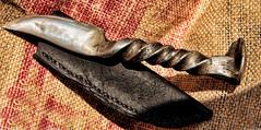 _MG_2659 (Scosanf) Tags: art leather canon eos texas handmade steel knife blade blacksmith custom craftsman ef2470mmf28lusm 6d