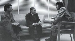 "Ernesto ""Che"" Guevara seated on right reunited with Simone de Beauvoir and Jean-Paul Sartre, in Cuba. 1960 [1080  588] #HistoryPorn #history #retro http://ift.tt/1YLAprq (Histolines) Tags: history de simone with cuba sartre right retro timeline che seated guevara reunited ernesto jeanpaul 1960 1080 beauvoir  vinatage 588 historyporn histolines httpifttt1ylaprq"