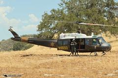 OCSD Hoist Training Duke 6 N186SD (PhantomPhan1974 Photography) Tags: county orange bell huey mission sheriff helicopters viejo department rancho sheriffs uh1 ocsd uh1h phantomphan1974 n186sd ocsdasu