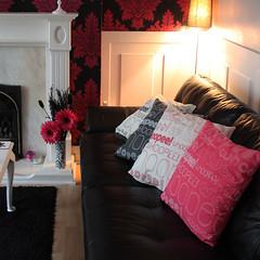 all whoopee cushions (rethinkthingsltd) Tags: pink home fun grey living bedroom funny room joke cream parry humour livingroom pillow sofa decor cushion typographic whoopee ilsa rethinkthings
