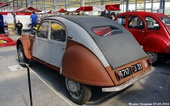 Citron 2CV Dagonet 1954 (XBXG) Tags: auto old france holland classic netherlands car mobile vintage french automobile nederland 1954 citron voiture 2cv frankrijk paysbas ancienne 2016 vijfhuizen franaise citromobile citro dagonet 3717kj33