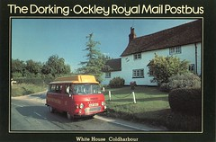 The Dorking to Ockley Royal Mail Postbus . (AndrewHA's) Tags: bus post mail royal pb dorking maidstone minibus commer rootes ockley coldharbour xuf680t