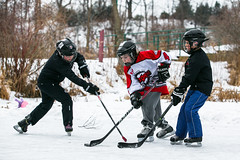 RD1_0927 (rick_denham) Tags: canada hockey goalie puck stcatharines defense forward on