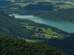 Fuschlsee. (stefanfriessner) Tags: mountain lake salzburg austria outdoor hiking wolfgangsee mondsee