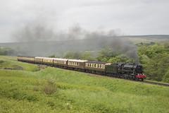 6046 (MitchellTurnbull) Tags: usa june photography nikon diesel weekend yorkshire north rail railway diner steam moors locomotive seventies gala 19th pickering grosmont nymr 2016 6046 d3200 s160 usatc moorgates