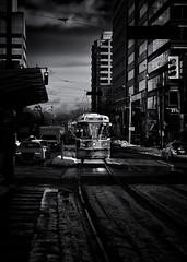 The 512 St.Clair Streetcar Toronto Canada (thelearningcurvedotca) Tags: road street city trip travel urban blackandwhite toronto ontario canada window public monochrome modern photography photo blackwhite foto ride noiretblanc trolley background ttc transport tram canadian line riding photograph transportation transit vehicle streetcar redrocket torontotransit iamcanadian bwemotions torontoist blackwhitephotos bej true2bw cans2s blackandwhiteonly bwartaward discoveryphotos yourphototips briancarson blogtophoto bwmaniacv2 thelearningcurvephotography wwwthelearningcurveca