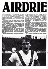 Aberdeen vs Airdrieonians - 1981 - Page 12 (The Sky Strikers) Tags: official stadium scottish aberdeen division done premier programme 30p airdrie the pittodrie airdrieonians