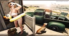 BEACH DAY (Annyzinh Oliveira) Tags: summer hair truth o ns fair m tropical z zenith everglow izzies ersch ~uber~