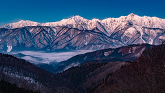 Hakuba Village in the morning (shinichiro*@OSAKA) Tags:    jp 20160104ds22856 2016 crazyshin nikond4s planart1450zf   january winter   kashimayari