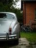 Bicycles (S_Artur_M) Tags: travel lumix skåne sweden schweden panasonic mk2 oldtimer sverige jaguar tz10