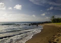 Secret beach in Martinique (mesliermarie) Tags: blue sun beach water azul island paradise martinique secretbeach paradis les secretplace le caravelle caraibes angoisse caribbeanislands madinina anseangoisse