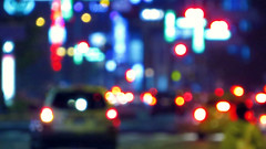 city lights bokeh.. (hailin.elle) Tags: bokeh city citylights lghts night nightlights urban street streetlights road blur outdoor
