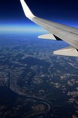 heading to Lyon (Katinka Irrlicht) Tags: flying fliegen airplane vogelperspektive above
