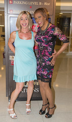 Michelle & Me! (kaceycd) Tags: crossdress tg tgirl lycra spandex stretch seethru seethrough lace minidress pantyhose pumps tstrappumps peeptoepumps opentoepumps highheels stilettopumps platformpumps stilettoheels sexypumps stilettos s