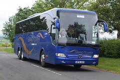 BF16XOS  Shearings (highlandreiver) Tags: bus green mercedes benz scotland coach holidays scottish gretna tours coaches wigan tourismo shearings xos bf16 bf16xos