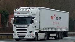 D - STS >MW1 RedLine< Scania R13 450 TL Streamline (BonsaiTruck) Tags: truck lorry camion trucks redline scania streamline lastwagen sts lkw lastzug lortries