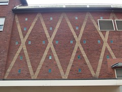XXXX (mkorsakov) Tags: city red rot wall pattern wand muster mnster xxxx innenstadt mauer