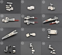 T-65 X wing Instructions (4) (Inthert) Tags: star fighter ship lego luke r2d2 xwing instructions wars skywalker moc t65 sfoils