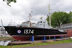 Pinnace 63ft Mk.1 1374 RAF Marine Craft (Richard.Crockett 64) Tags: pinnace 63ft mki 1374 marinecraft boat launch raf royalairforce royalairmuseum hendon london 2016