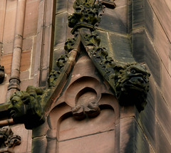 Coventry, St Michael's (Old Cathedral) (beery) Tags: england cathedral ruin gargoyle coventry stmichaels westmidlands warwickshire grotesque oldcathedral