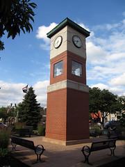 Berea 06-28-2016 - Berea Clock Tower (David441491) Tags: clock oh berea