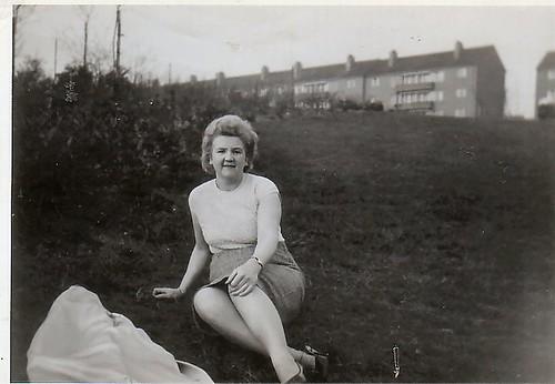 Agnes Frost, Cranhill park, 1965