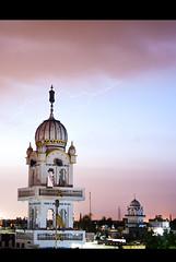 Gurudwara Akali Fand Nangal majja (Gurpreet Dubb) Tags: panorama temple golden deep sikh sahib amritsar baba harmandir darbar gurpreet takhat akal sarowar