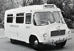 1960 LCC Austin Ambulance (colinfpickett) Tags: blackandwhite austin famous memories ambulance nostalgia 1950s nostalgic 1960s 1970s firebrigade 999 3way emergencyvehicle daysgone vintagevan classicvan