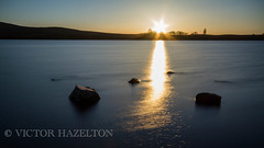 simple sunset (Victor Hazelton ) Tags: ireland lough northern fea tyrone cookstown