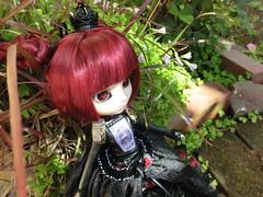 Lunatic Queen (C r y s t a l H e a r t) Tags: new red black hearts punk doll dolls sebastian version steam queen butler opening lonely pullip lunatic gyro unboxing taeyang kuroshitsuji